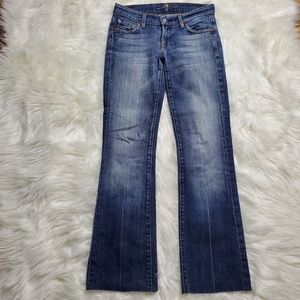 7 For All Mankind bootcut jeans, Size 26